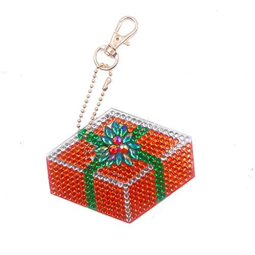 YusellYu_Mädchen Strampler Jumpsuit Yusell 👼👼Cartoon Home DIY Schmuck Dekorative Aufkleber Halskette Anhänger Schlüssel Hängen Schnalle (H)