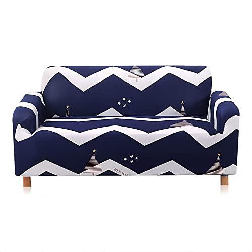 WXQY Funda elástica para sofá Funda para sofá de Sala de Estar Funda para sofá elástica elástica Funda para sillón de Esquina en Forma de L Funda para sofá A7 2 plazas