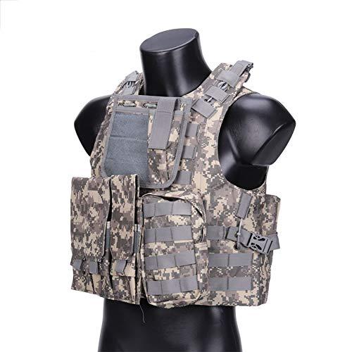 Swat Pecho Rigg Molle Ampliable Painball Seguridad Militar -nuevo