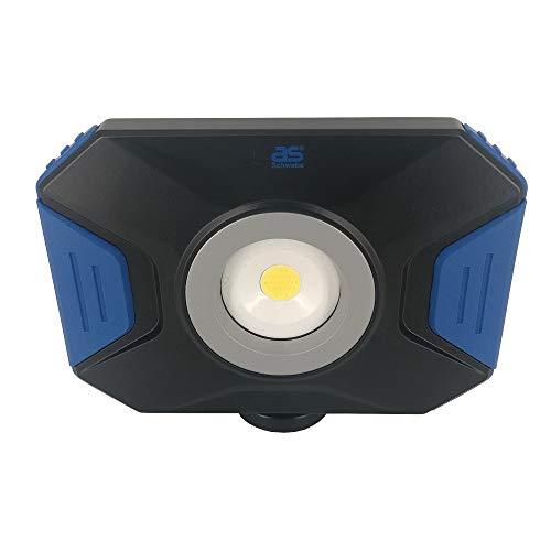 as - Schwabe Acculine Flex LED-spot 10 W - mobiele LED-bouwlamp met voet I draaibare LED-spots buitenverlichting I LED-spot I LED-lampen buitenlampen - LED-verlichting - IP54 I 46360