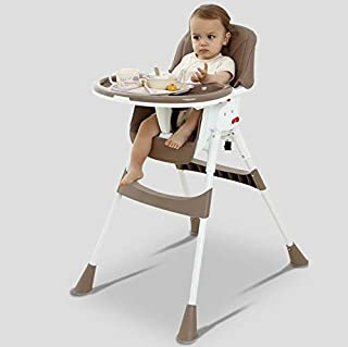 Baby High Chair, Adjustable Booster Seat, Toddler Chair with Eating Table, Easy to Assemble Dining Chair, for Boys and girls