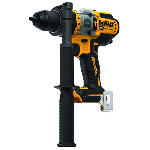 DEWALT DCD999B 20V MAX 1/2 in. Brushless Cordless Hammer Drill/Driver with FLEXVOLT ADVANTAGE (Tool Only) (Renewed)