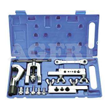 Caja con abocardador 45º ensanchador tubos cortatubos y carraca.: Amazon.es: Bricolaje y herramientas