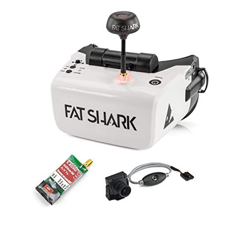 Buy Bargain Fat Shark Scout FPV Goggles RTF Combo (with 600TVL Camera and ImmersionRC 600mW VTX)