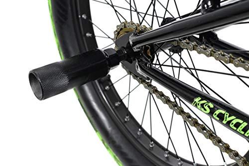 KS Cycling BMX Freestyle 20'' Fatt schwarz-grün - 3