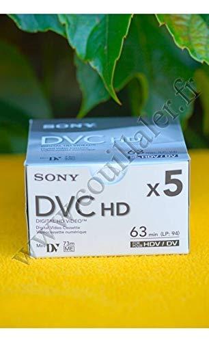 ソニー SONY ミニDVカセット テープ 5DVM63HD