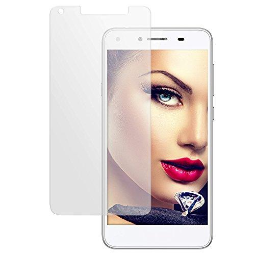 mtb more energy® Schutzglas für Huawei Y6 II Compact (5.0'') - 9H - Glasfolie Schutzfolie Tempered Glass