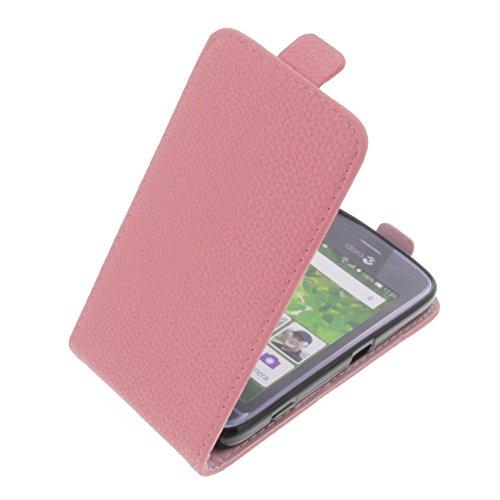 foto-kontor Tasche für Doro Liberto 820 Mini Smartphone Flipstyle Schutz Hülle pink