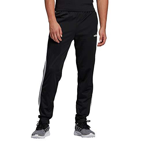 adidas Herren E 3S T PNT TRIC Sport Trousers, Black/White, M