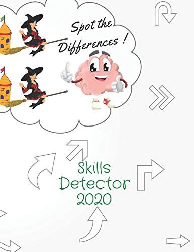 Spot the Differences! Skills Detector 2020: This book alread