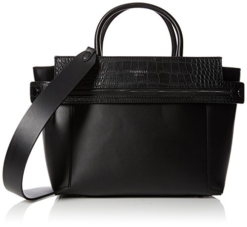 Fiorelli Damen Abbey Shopper, Schwarz (Black Croc Mix), 16.5x23x37 cm