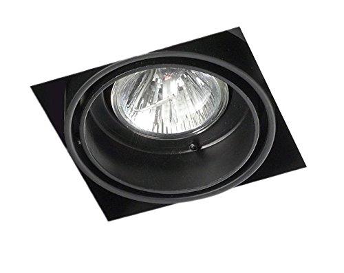 LEDs-C4 DM 0093-60-00-Encastrement multidir trimless 1xgu5,3 50w Noir