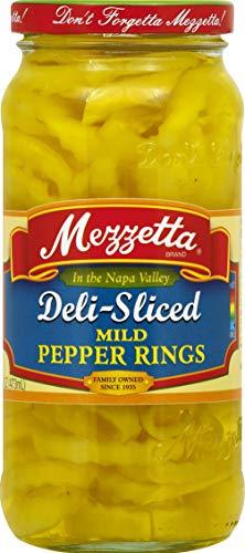 Mezzetta Mild Ring Peppers, 16 oz