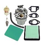 Ouken Combinación Motor De Carburador con Filtro De Aire Y Eje De Gcv160 Jardín De Máquina Herramienta, Accesorios para Motosierras 1 Set