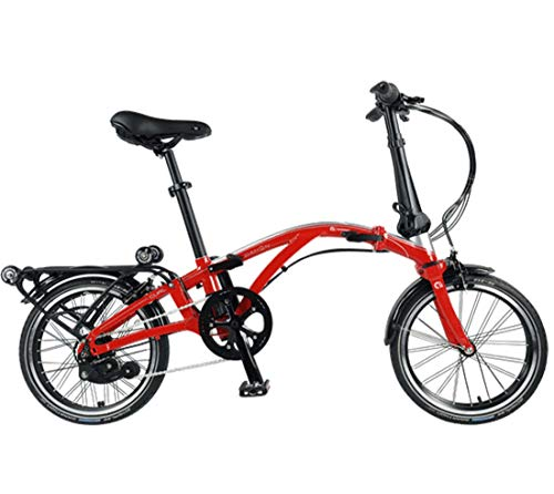 For Sale! Dahon Curl i8 35th Anniversary Red/Silver Folding Bike Bicycle