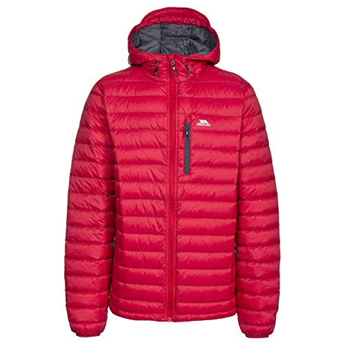 Trespass Digby - Male Down JKT - Chaqueta, Hombre, Rojo - (Red)