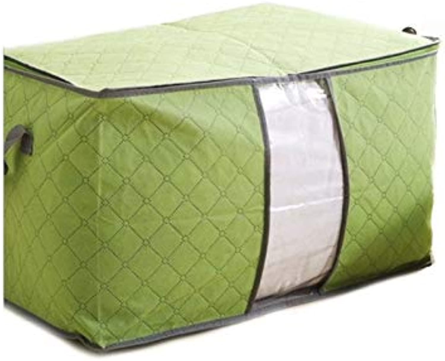 Tyro DINIWELL Non-Woven Fabric Bedding Quilt Pillow Blanket Clothing Storage Bag with Zipper Cloest Wardrobe Organizer