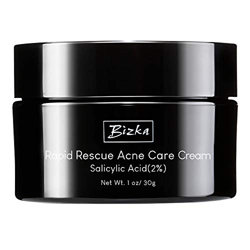 Anti Acne Treatments Cream Bizka Acne Scar Removal Cream Acne Face Cream for Scars Spots Pimple Treatments Suitable especially for Oily Combination or Sensitive Skin of All Ages for All Genders