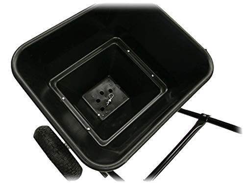 Streuwagen 30kg mit Luftreifen für Salz Dünger Saatgut Streusalz Modell 2411;;;;; - 4