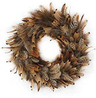 Best pheasant feather wreath Reviews