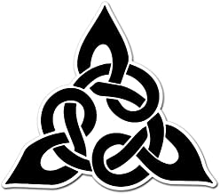 AK Wall Art Celtic Knot Trinity Irish Vinyl Sticker - Car Phone Helmet - Select Size