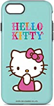Skinit Pro Phone Case for iPhone 7 - Officially Licensed Sanrio Hello Kitty Blue Background Design