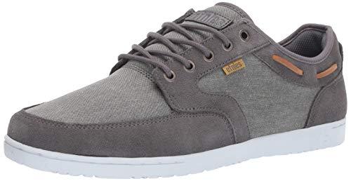 Etnies ETNAB Herren Dory Skateboardschuhe, (Grey/Silver 075), 41.5 EU