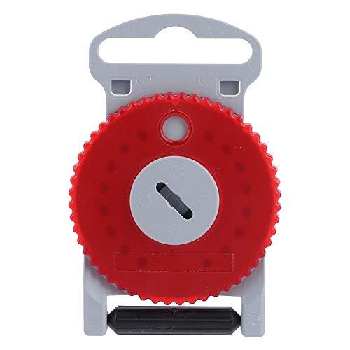 BLLBOO HF4 Pro Hörgerät Schutz Earwax Guards Filter-Abdeckung for Siemens W-best Rexton Red