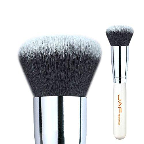 Pinceles De Maquillaje Venta al por menor 18SSYM forma de seta Kabuki cepillo for maquillaje facial Crema base de maquillaje maquillaje cepillo suave sintético Taklon pelo Para la Fundación Facial Pow