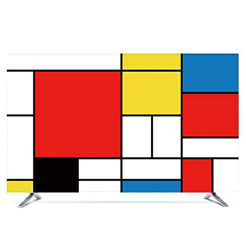 JT TV-Abdeckung, staubdicht, wasserdicht, Deckel für LCD-Fernseher universell, inklusive 32 Color1