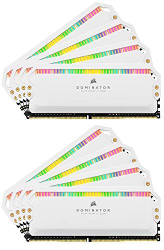 Corsair Dominator Platinum - Memoria desktop RGB 3200 MHz. bianco