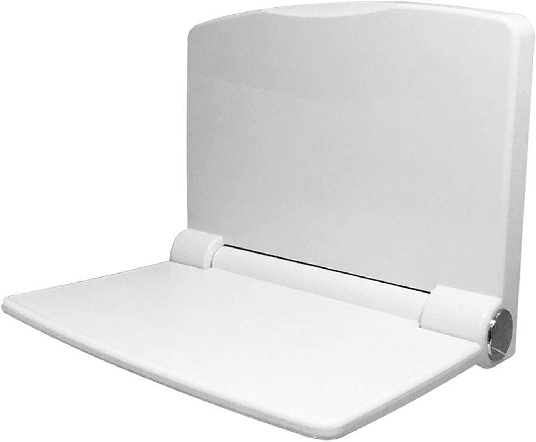 Duschklappsitz Komfortabler Duschklappsitz mit Flow Assist  -Wei zur Wandmontage Duschsitz zur Wandmontage