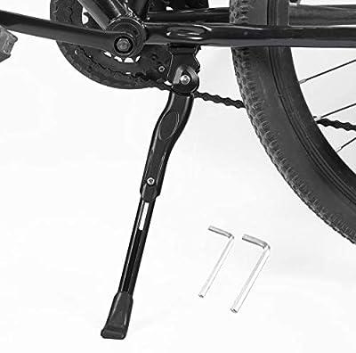 "BESTCAN Bicycle Kickstand,Adjustable Aluminum Alloy Bike Kickstand for 22""24""26""28""Mountain Bike/Road Bicycle/BMX/MTB/City Commuter Bike/Kids Bike/Sports Bike/Adult Bike"