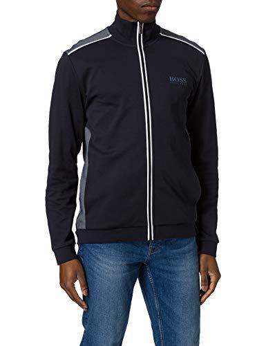 BOSS Tracksuit Jacket Chaqueta con Cremallera, Dark Blue403, XL para Hombre