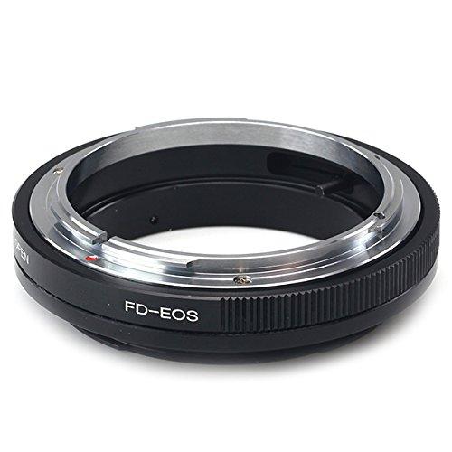 PixcoMacro - Anillo Adaptador de Montura para Objetivo FD a cámara Canon EOS 6D 7D 5DIII 650D 60D 1D
