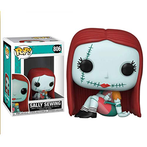 Funko Pop Movies : The Nightmare Before Christmas : Sally Sewing 3.75inch Vinyl Gift for Anime Fans SuperCollection
