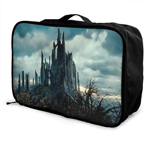 Hobbit Travel Lage Bolsa de lona ligera maleta portátil Bolsas impermeable grande Bapa Caity