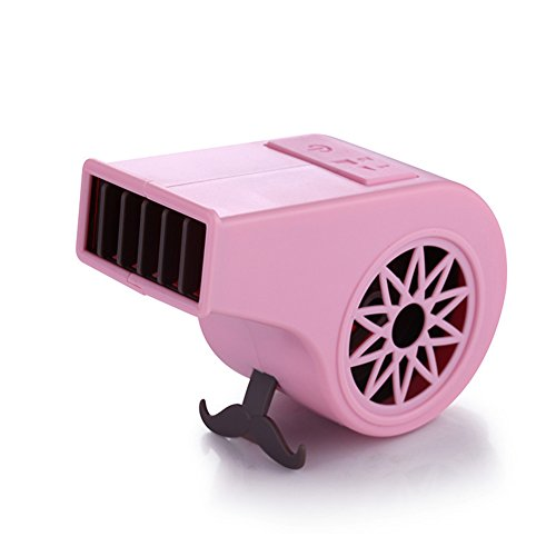 Unbekannt Tragbare Hand No Leaf USB Wiederaufladbare Mini Whistle Form Fan Blattlosen Fan Luftkühler Outdoor Fans,Pink
