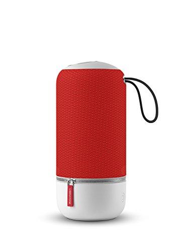 Libratone ZIPP MINI Wireless Lautsprecher (360° Sound, Wlan, Bluetooth, MultiRoom, Airplay 2, Spotify Connect, 10 Std. Akku) victory red
