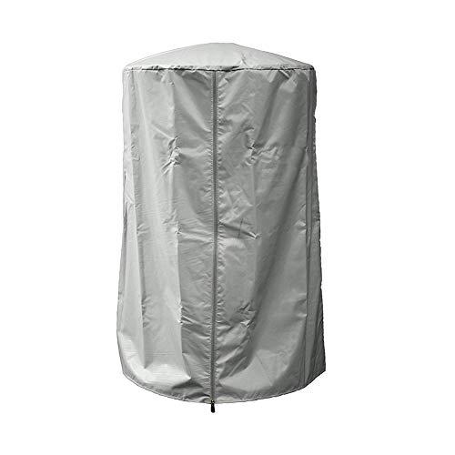 Chyuan Wetterschutzhülle für Terrassenheizer, Abdeckhaube für Heizpilz, Heizstrahler Abdeckung für Außenbereich, Gartenheizung, Terrassenheizung 96.5cm*61cm (grau)
