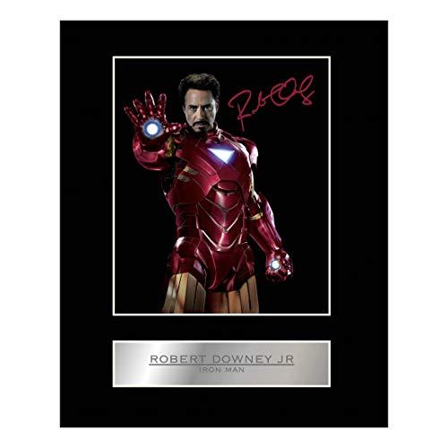 Signiertes Photo von Robert Downey Jr., Iron Man