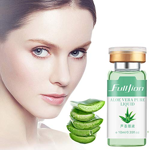ARTIFUN Solution D'acné D'aloe vera Hydratante peau Lisse Hydratante Essentielle Enlever les Boutons d'acné Marques Sérum pour L'acné