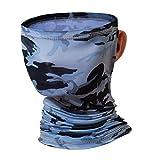 Al Aire Libre Unisex Multifuncional Headwear Bandana Mascarilla Facial, Mascarilla, Banda para la Cabeza Bufanda Polaina para el Cuello, Protección UV/Polvo Reutilizable Transpirable elástico