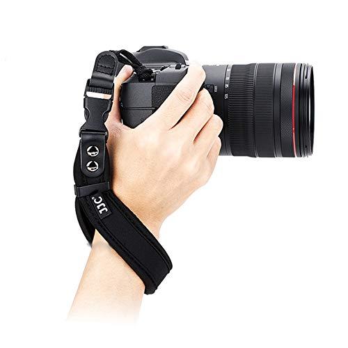 JJC Cinturino da Polso Reflex Cinghia Fotocamera Reflex per Canon Nikon Sony Fujifilm Olympus DSLR SLR Tracolle
