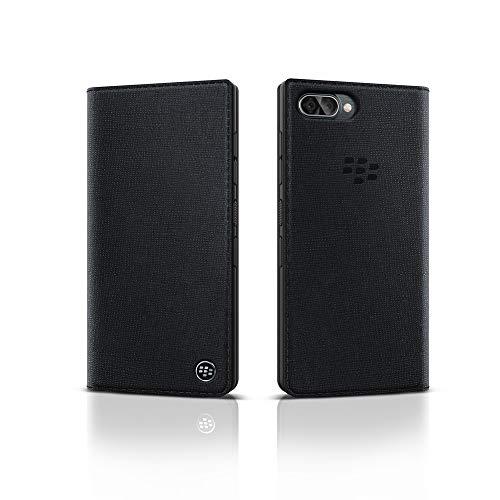 BlackBerry Key2 LE Flip Case Schwarz