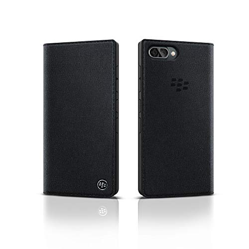 BlackBerry Key2 LE Flip Case Schwarz