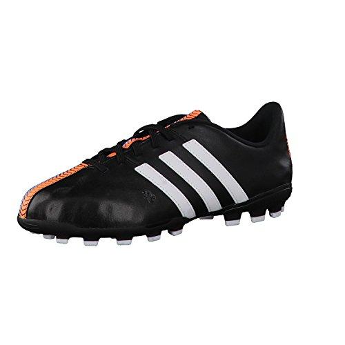 adidas Jr 11Nova TRX AG, Scarpe da Calcio, Black-White-Flash Orange, Taglia 35 EU (35 EU)