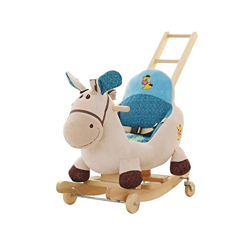 ZTTTD Baby Rocking Chair Kids Toys Elephant Rocking Horse Baby Early Education Toys