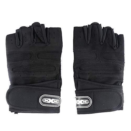 Guanto antiscivolo e protettivo: i nostri guanti fitness utilizzano un cuscinetto in silicone che non solo impedisce lo scivolamento, ma aumenta anche la presa. I cuscinetti e i punti in gel di silice forniscono attrito per mantenere i pesi in sicure...