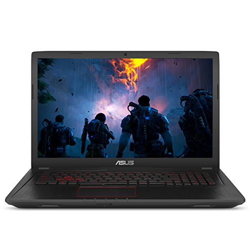 "ASUS Gaming Laptop, 17.3"" Full HD Wideview Display, Intel Core i7-7700HQ Processor, NVIDIA GTX 1050 Ti 4GB, 8GB DDR4 RAM, 1TB HDD, Backlit kbd, USB 3.1 Type C, Windows 10 Home, FX73VE-WH71"